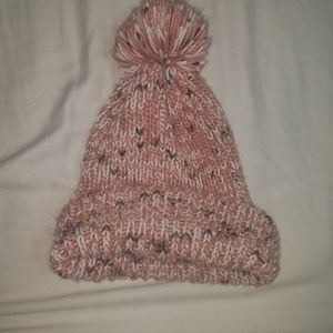 David and young thick knot pom pom beanie